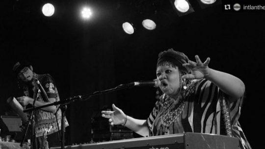 Jazz-Exorzismus auf Berliner Bühne: Angel Bat Dawid zeigt, wie live geht