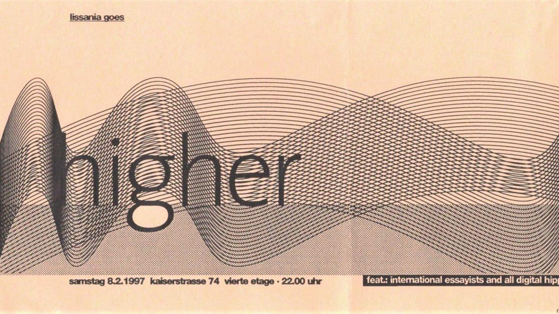 Shantels Lissania Essay und Marakesch 6000 – Partyflyer von 1995 bis 1997